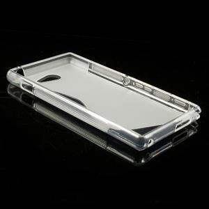 Gélové S-line puzdro pre Sony Xperia M2 D2302- transparentný - 4