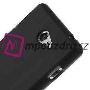 Gélové tenké puzdro pre Sony Xperia M2 D2302 - čierné - 4