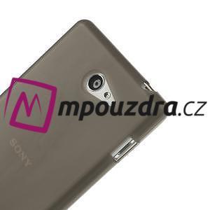 Gélové tenké puzdro pre Sony Xperia M2 D2302 - sivé - 4