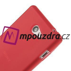 Gélové tenké puzdro pre Sony Xperia M2 D2302 - červené - 4