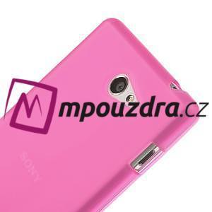 Gélové tenké puzdro pre Sony Xperia M2 D2302 - ružové - 4