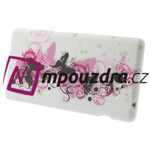 Gélové puzdro na Sony Xperia M2 D2302 - motýlí květ - 4