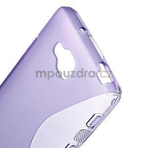 Gélové S-line  puzdro pre LG Optimus L9 II D605-fialové - 4