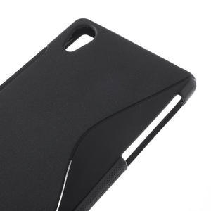 Gélové S-line puzdro pre Sony Xperia Z2 D6503- čierne - 4