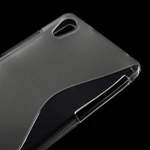 Gélové S-line puzdro pre Sony Xperia Z2 D6503- transparentné - 4