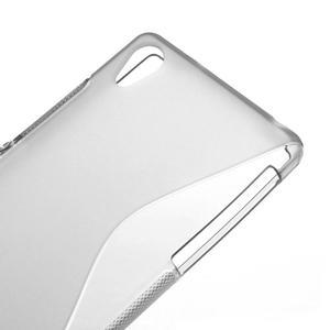 Gélové S-line puzdro pre Sony Xperia Z2 D6503- sivé - 4