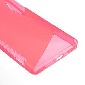 Gelové S-line pouzdro na Sony Xperia Z2 D6503- růžové - 4