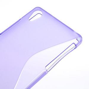 Gélové S-line puzdro pre Sony Xperia Z2 D6503- fialové - 4