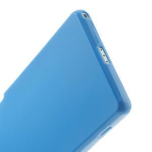 Gélové matné puzdro na Sony Xperia Z2 D6503- modré - 4