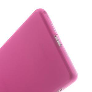 Gelové matné pouzdro na Sony Xperia Z2 D6503- růžové - 4