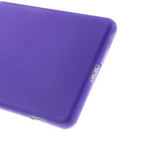 Gélové matné puzdro pre Sony Xperia Z2 D6503- fialové - 4