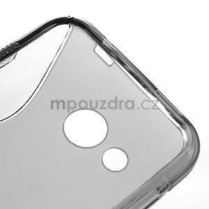 Gélové S-line puzdro pre HTC Desire 200- šedé - 4