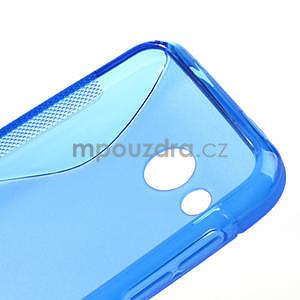 Gélové S-line puzdro pre HTC Desire 200- modré - 4