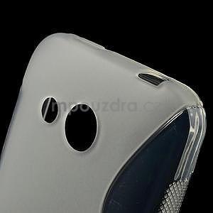 Gélové S-line puzdro pre HTC Desire 200- transparentný - 4