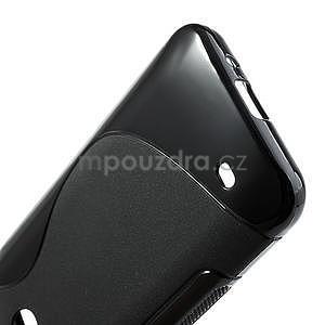 Gélové S-line puzdro pre HTC Desire 300 Zara mini- čierné - 4