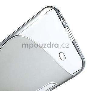 Gélové S-line puzdro pre HTC Desire 300 Zara mini- šedé - 4