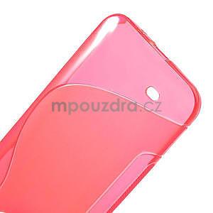 Gélové S-line puzdro pre HTC Desire 300 Zara mini- ružové - 4