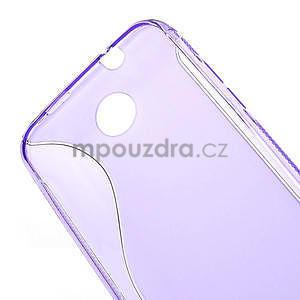 Gélové S-line puzdro pre HTC Desire 300 Zara mini- fialové - 4