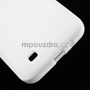 Gélové puzdro pre HTC Desire 300 Zara mini -biele - 4
