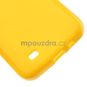 Gélové puzdro pre HTC Desire 300 Zara mini -žlté - 4