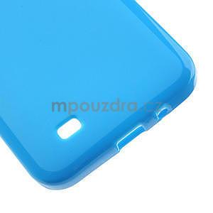 Gélové puzdro pre HTC Desire 300 Zara mini -modré - 4