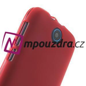 Gélové puzdro na HTC Desire 310- červené - 4