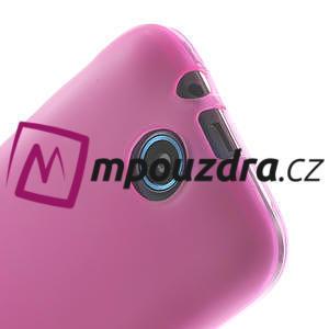 Gélové puzdro na HTC Desire 310- růžové - 4
