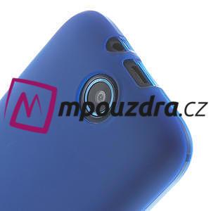 Gélové puzdro pre HTC Desire 310- modré - 4