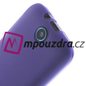 Gélové puzdro pre HTC Desire 310- fialové - 4