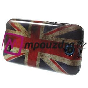 Gélové puzdro pre HTC Desire 310- UK vlajka - 4