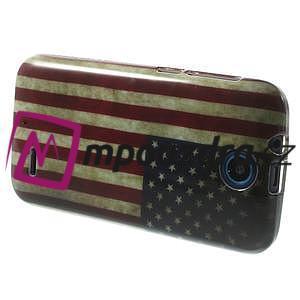 Gélové puzdro na HTC Desire 310- USA vlajka - 4