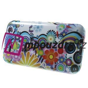 Gélové puzdro na HTC Desire 310- farebné květy - 4