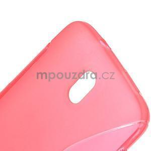Gélové puzdro pre HTC Desire 500- růžové - 4
