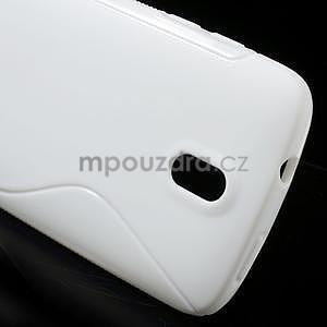 Gélové puzdro pre HTC Desire 500- biele - 4