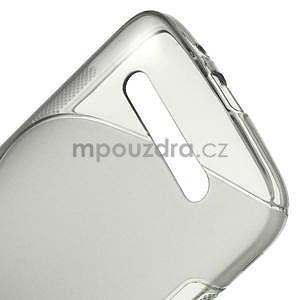 Gélové puzdro pre HTC Desire 500- šedé - 4