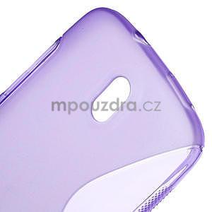 Gélové puzdro pre HTC Desire 500- fialové - 4