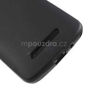 Gélové matné puzdro pre HTC Desire 500- čierné - 4