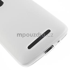 Gélové matné puzdro pre HTC Desire 500- biele - 4