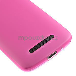 Gélové matné puzdro pre HTC Desire 500- růžové - 4