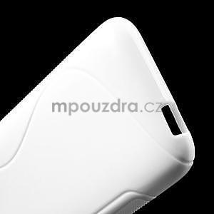 Gelove S-line puzdro pre HTC Desire 601- biele - 4