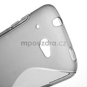 Gelove S-line puzdro pre HTC Desire 601- šedé - 4