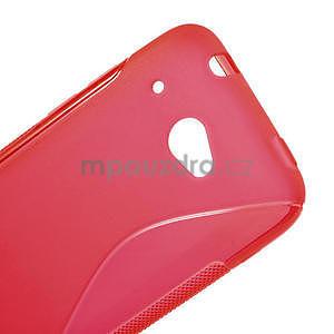 Gelove S-line puzdro pre HTC Desire 601- červené - 4