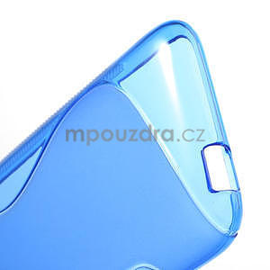 Gelove S-line puzdro pre HTC Desire 601- modré - 4