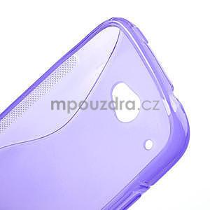 Gelove S-line puzdro pre HTC Desire 601- fialové - 4