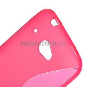 Gelove S-line puzdro pre HTC Desire 601- růžové - 4