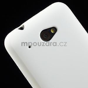 Gélové puzdro pre HTC Desire 601- biele - 4