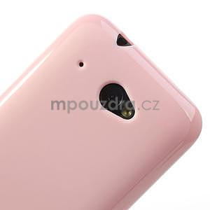 Gélové puzdro pre HTC Desire 601- růžové - 4