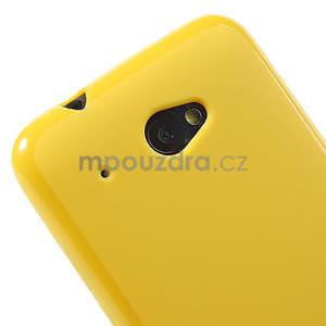 Gélové puzdro pre HTC Desire 601- žlté - 4