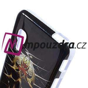Gélové puzdro pre LG Optimus L5 Dual E455- lebka - 4