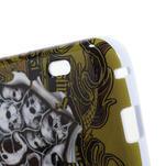 Gelová puzdro pre LG Optimus L5 Dual E455- lebky - 4/5